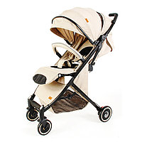 Детская коляска чемодан коляска коляска bair D288 бежевая.