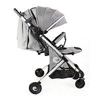Детская коляска чемодан коляска коляска bair D288 светло серая.