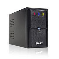 Источник бесперебойного питания, SVC, V-650-L, Мощность 650ВА/390Вт, Диапазон работы AVR: 165-275В, AVR в режи