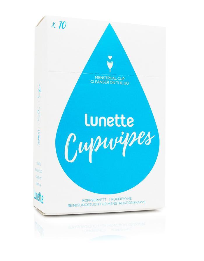 Очищающие салфетки для менструальной чаши Lunette Финляндия