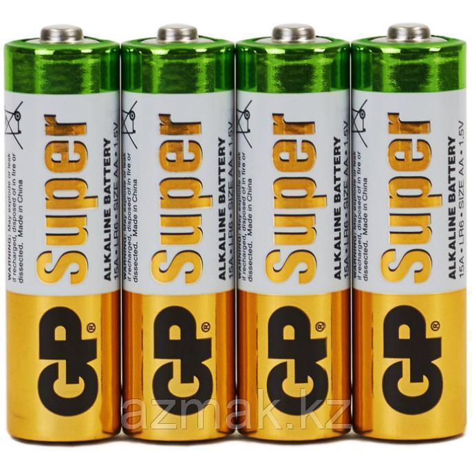 Батарейки GP SUPER Alkaline 15ARS-2SB4 (AA)