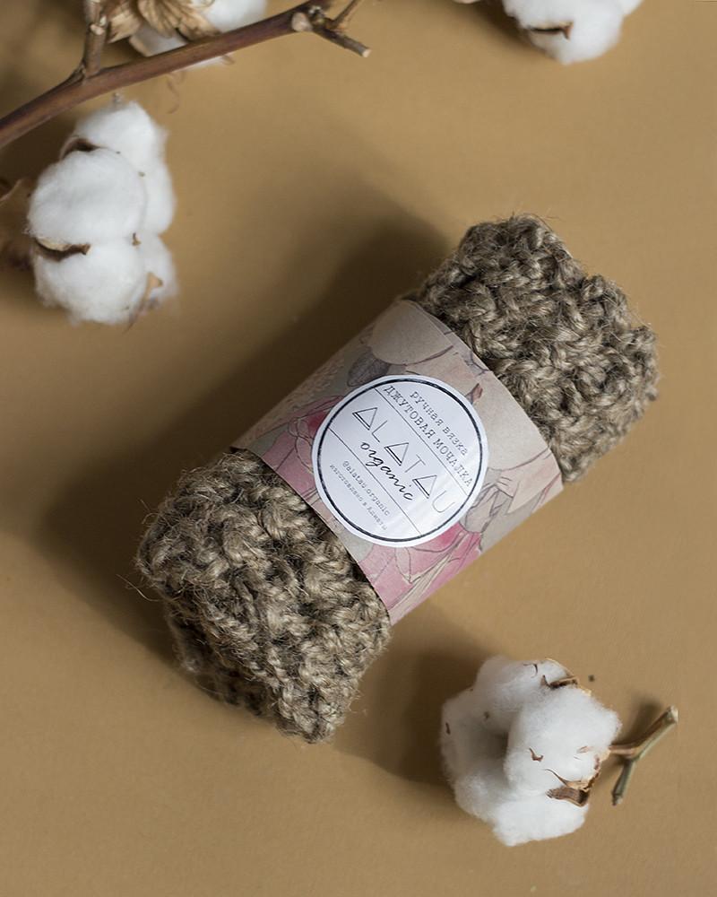 Джутовая мочалка для тела Alatau Organic