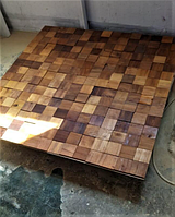 Стеновые панели деревянные (мозайка)