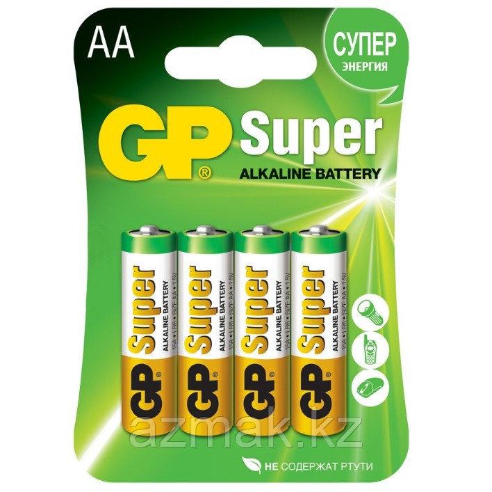 Батарейки GP SUPER Alkaline 15A-CR4 (AA)