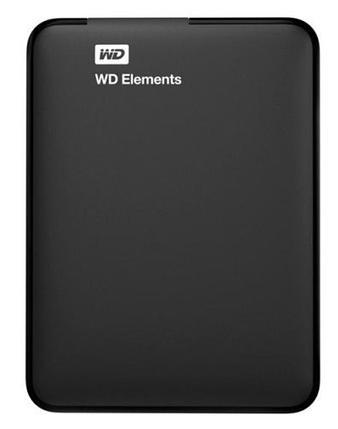 """Внешний HDD Western Digital 2Tb Elements SE Portable 2,5"""" WDBU6Y0020BBK-WESN USB3,0 Black, фото 2"""