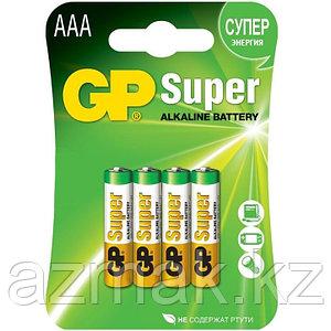 Батарейки GP SUPER Alkaline 24A-CR4 (AAA)