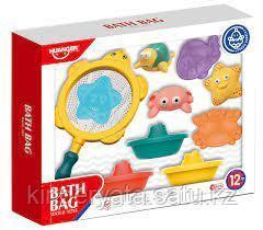 HAUNGER Набор игрушек для ванной МОРСКИЕ ОБИТАТЕЛИ И КОРАБЛИКИ