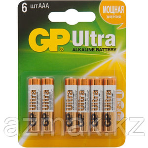 Батарейки GP ULTRA Alkaline 24AU 4/2-CR6 (АAА)