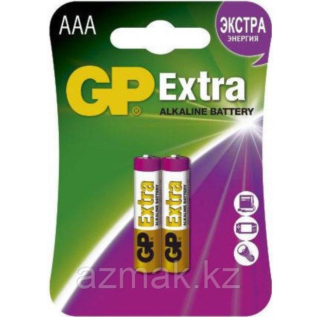 Батарейки GP EXTRA Alkaline 24AX-CR2 (AAA)