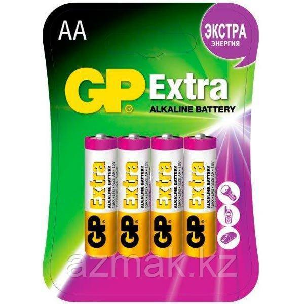 Батарейки GP EXTRA Alkaline 15AX-CR4 (AA)