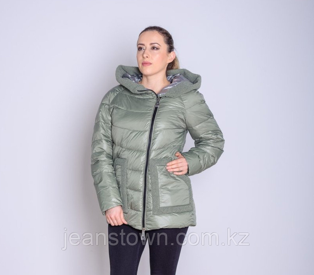 Куртка женская демисезонная  Evacana светло-зеленая