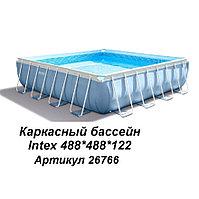 Каркасный бассейн квадратный bestway Prism Frame