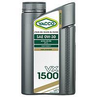 Масло премиум класса на основе ПАО Yacco VX 1500 0W30 1л A5/B5