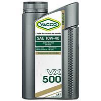 Синтетическое моторное масло Yacco VX 500 10W40 1л
