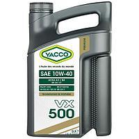 Масло Yacco VX 500 10W40 5л с синтетической основой