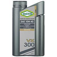 Моторное масло YACCO VX 300 10W40 1л для легковых автомобилей