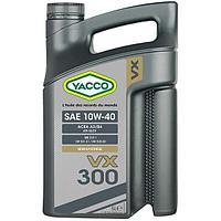 Моторное масло Yacco VX 300 10W40 5л для бензиновых и дизельных двигателей