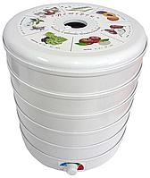 Электрическая сушилка для овощей и фруктов «Ветерок-2» (белые поддоны)
