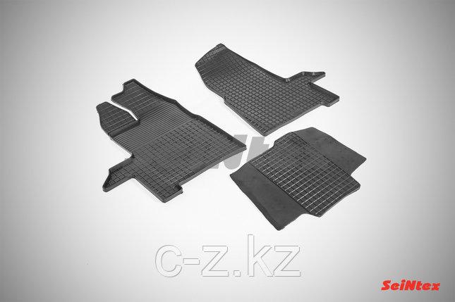 Резиновые коврики для Ford Transit 2014 - н.в., фото 2
