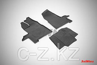 Резиновые коврики для Ford Transit 2014 - н.в.