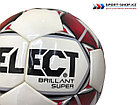 Мяч футбольный Select BRILLANT SUPER original, фото 3