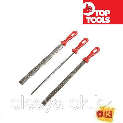 Набор рашпилей по дереву Top Tools 3 шт