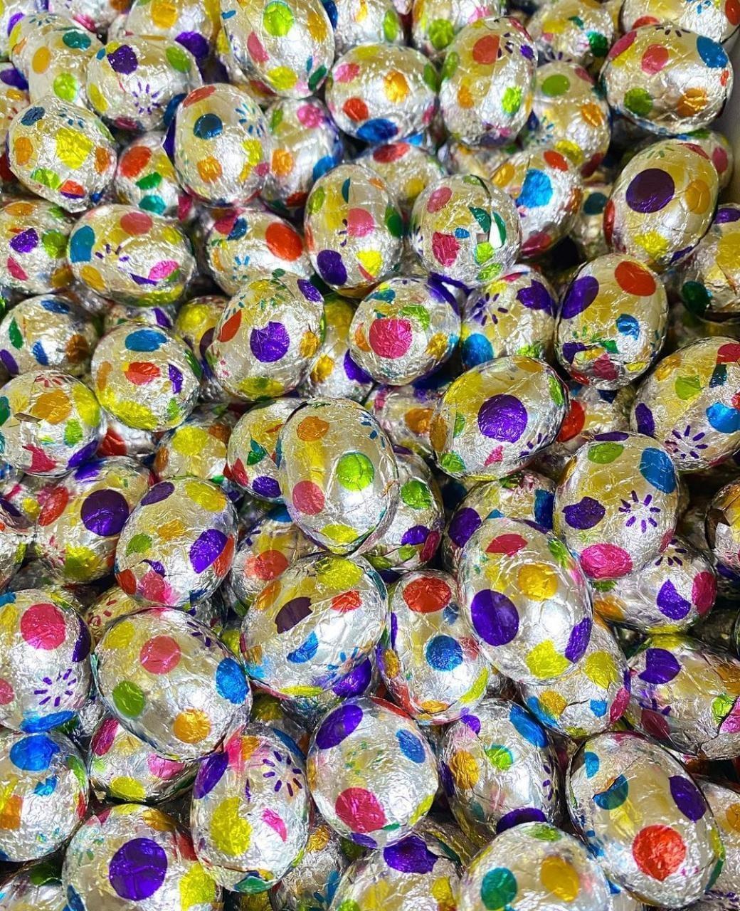 Яйцо шоколадное (взрывная карамель)  1кг