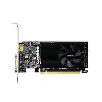 Видеокарта, Gigabyte, GT730 2G (GV-N730D5-2GL) 4719331301750, DDR5, 64B, DVI-D, HDMI, планка low profile, 149.