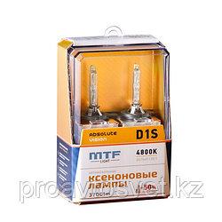 Ксенон MTF Light D1S 85В 35Вт ABSOLUTE VISION +50% 3800lm 4800K AVBD1S