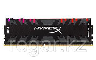 Память оперативная DDR4 Desktop HyperX Predator HX429C15PB3A/8, 8GB, RGB