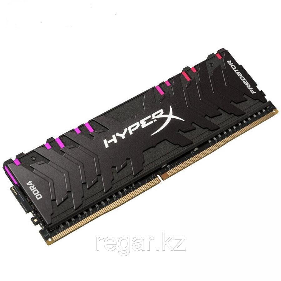 Память оперативная DDR4 Desktop HyperX Predator HX432C16PB3A/8, 8GB, RGB