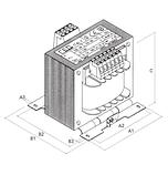 Однофазный разделительный трансформатор безопасности, фото 2