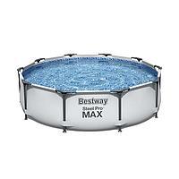 Круглый каркасный бассейн Bestway 56406, Steel pro Max, размер 305x76 см, фото 1