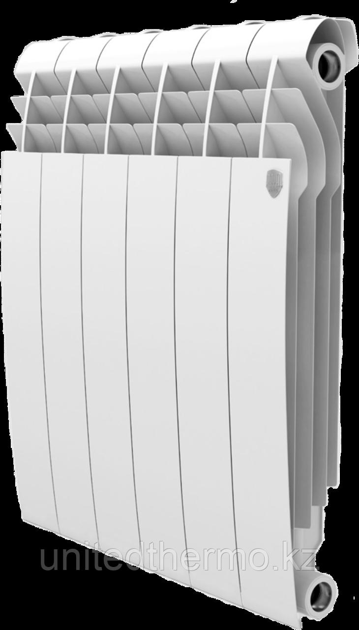 Радиатор алюминиевый Biliner 500/90 выпуклый Royal Thermo белый (РОССИЯ)