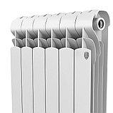 Радиатор алюминиевый Indigo 500/100 Royal Thermo (РОССИЯ), фото 4