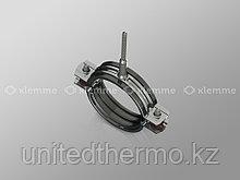 "Хомут 1 1/4"" (М8) для труб с резиновым профилем и шурупом 39-46 мм"
