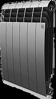 Радиатор биметаллический Biliner 500/90 Royal Thermo серебро выпуклый (РОССИЯ)