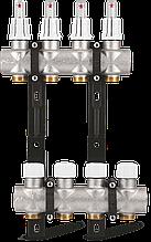 "Коллектор S3 1""x3/4"" EK для теплого пола с расходомерами Varmega - 3 выхода"