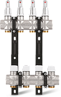 """Коллектор S11 1""""x3/4"""" EK для теплого пола с расходомерами Varmega - 11 выходов"""
