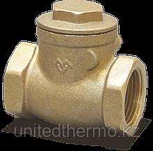 """Клапан 1/2"""" горизонтальный обратный с резиновым уплотнителем Varmega"""