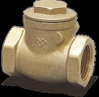 """Клапан 1/2"""" Горизонтальный обратный с металлическим уплотнением Varmega"""