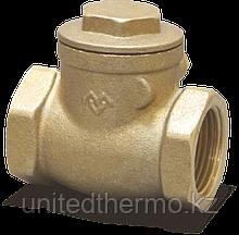 """Клапан 1 1/4"""" Горизонтальный обратный с металлическим уплотнением Varmega"""