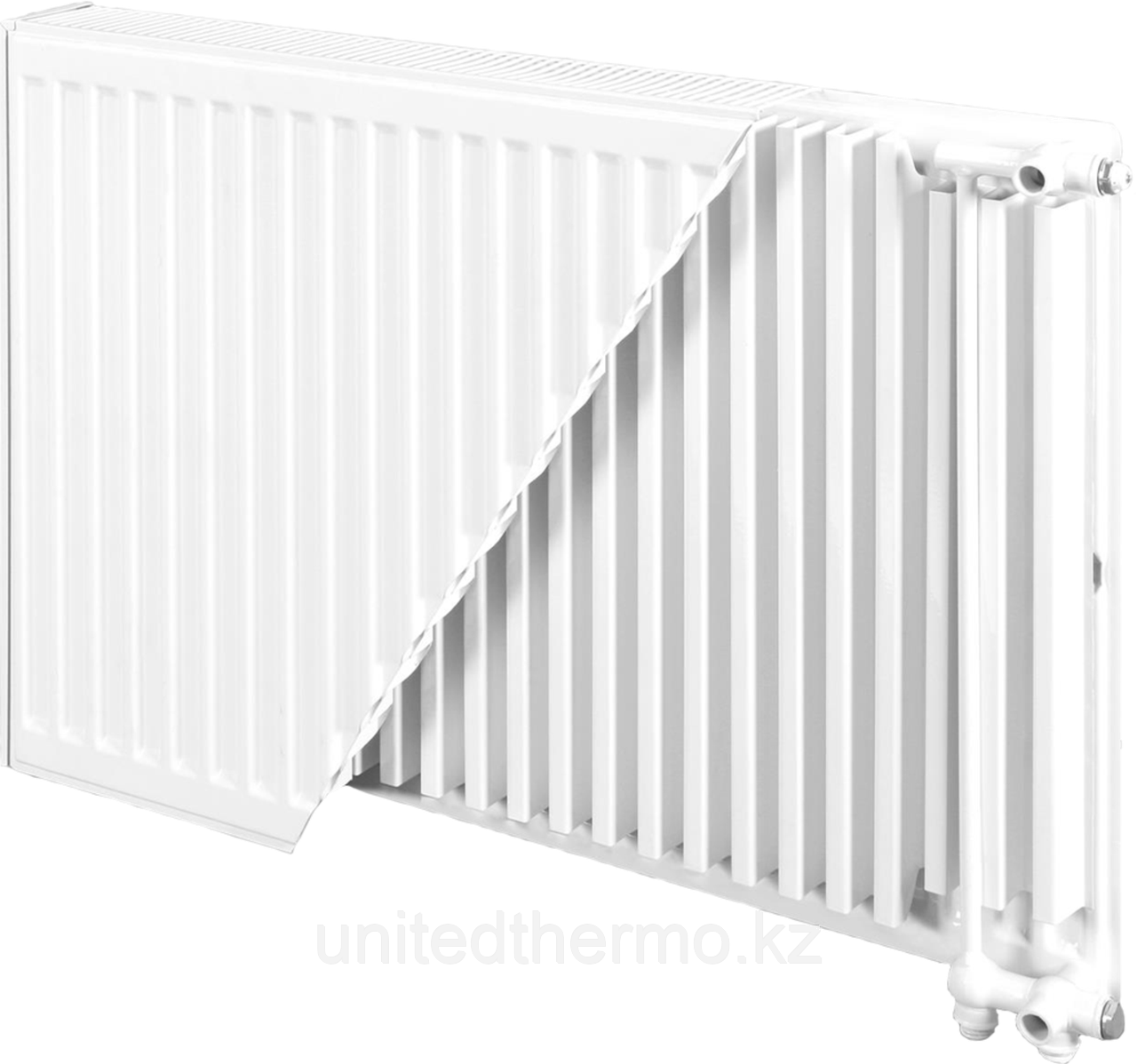 Радиатор стальной тип 22VK H300мм*L500мм панельный Bjorne нижнее подключение