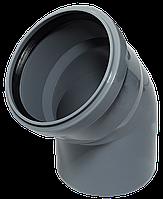 Угол ПП д110/45 (2.7мм) серый