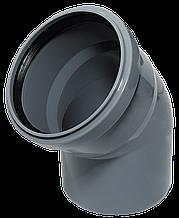 Угол ПП д110/67 (2.7мм) серый