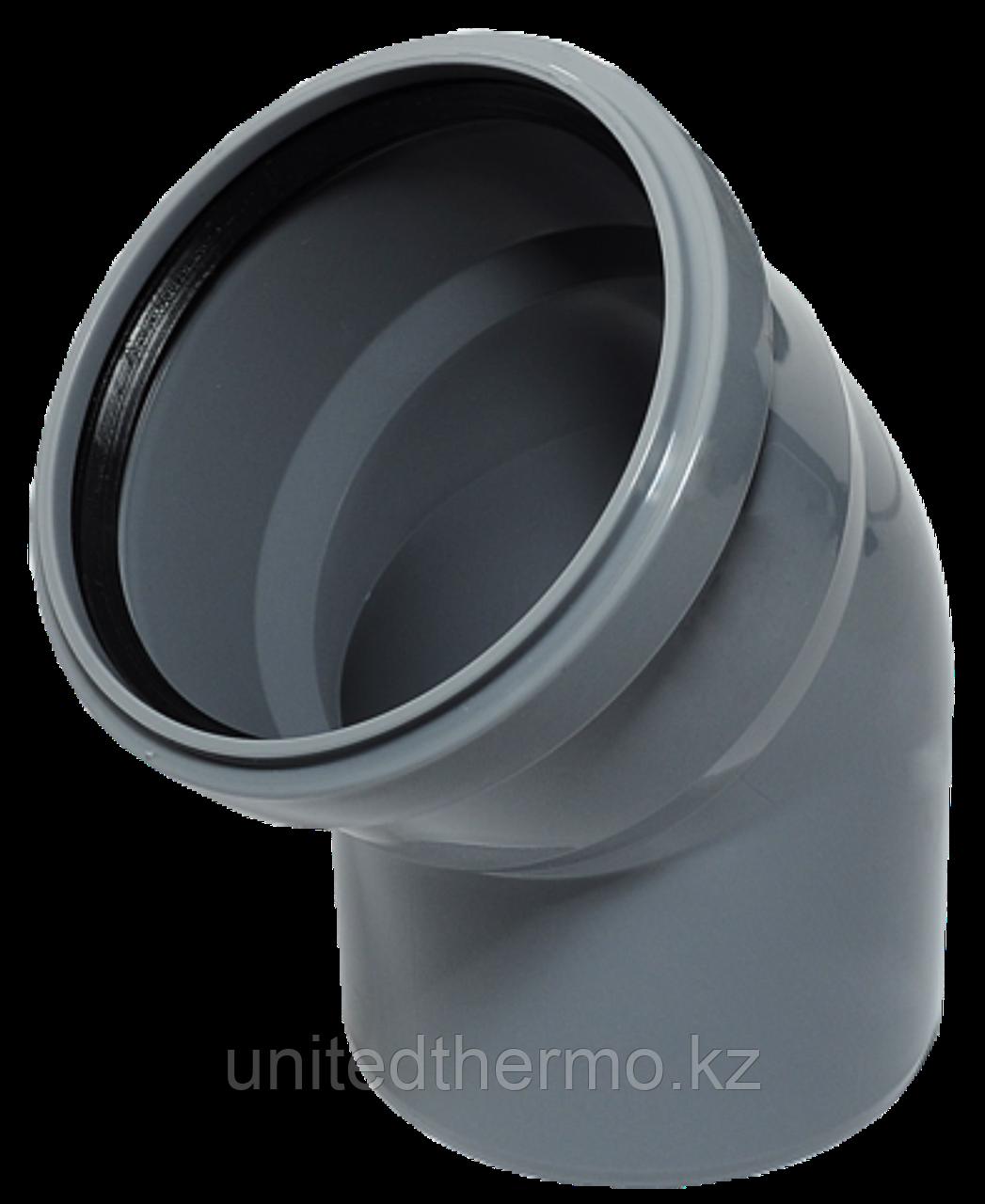 Угол ПП д110/90 (2.7мм) серый