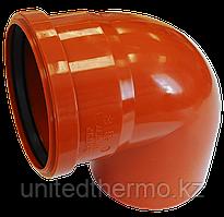 Угол ПП д160/90 (4.9мм) оранжевый