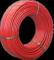 Труба 16x2.0 мм для теплого пола Fusitek PE-RT II однослойная, цвет красный