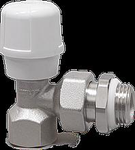 """Угловой 1/2"""" радиаторный клапан с антипротечкой RFS ручной регулировки RBM"""