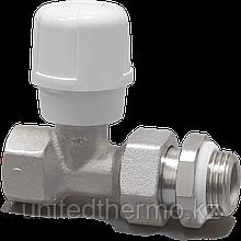 """Прямой 1/2"""" радиаторный клапан с антипротечкой RFS ручной регулировки RBM"""